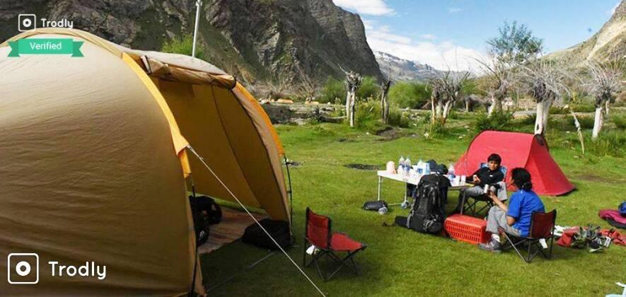 Chandertaal Lake Road Trip and Camping