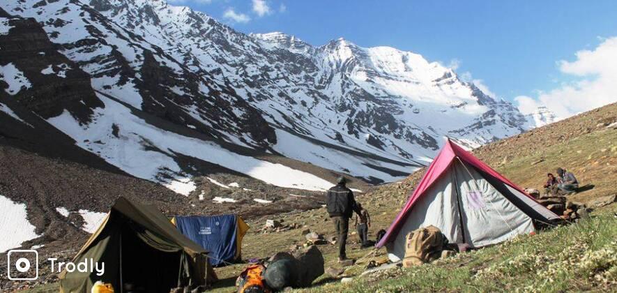 Kinner Kailash Parikrama (Charang La) Trek