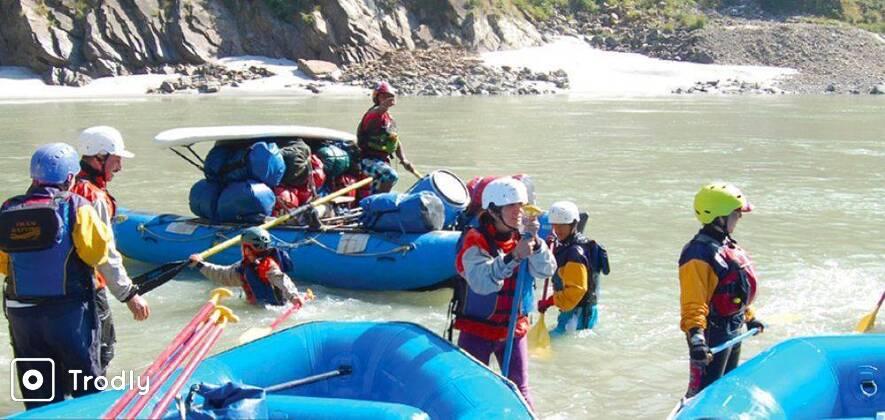 Rafting on Ganga - Marine Drive 26 km