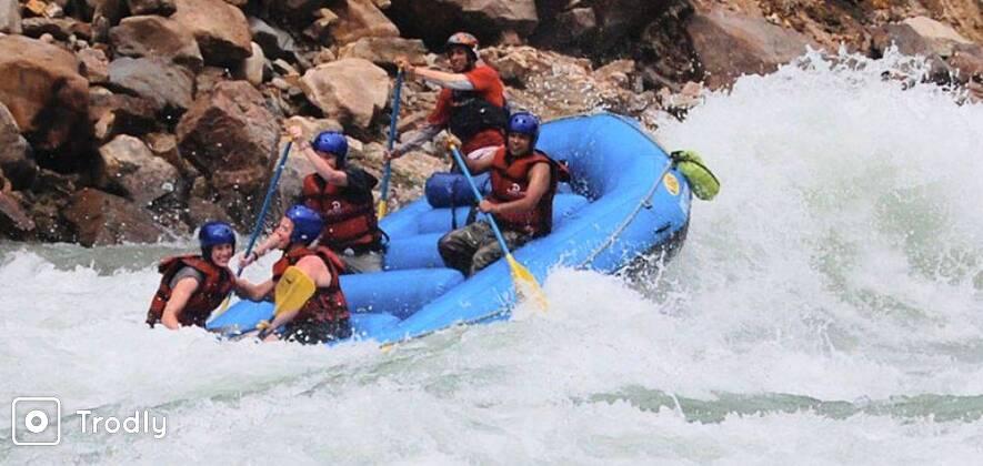 Rafting on Ganga - Shivpuri 16 km