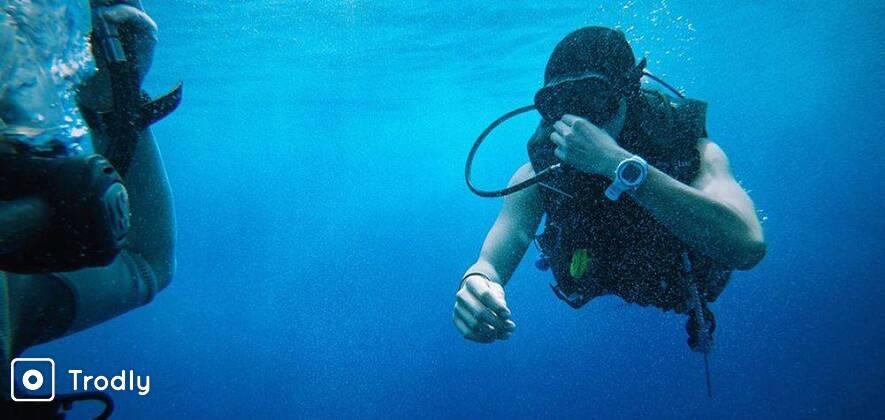 Scuba Diving near Chidyatapu Island, Port Blair