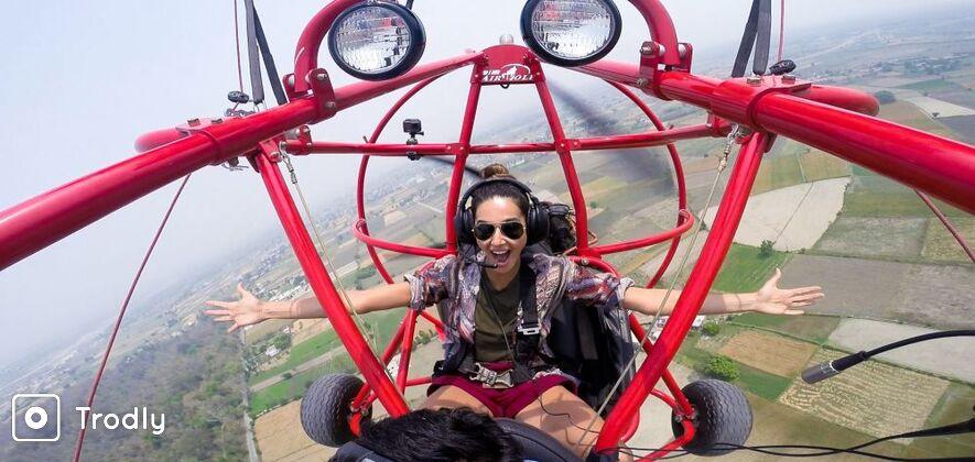 Light Sport Aircraft over Rishikesh