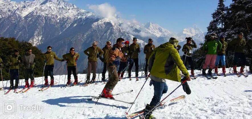 Auli Ski Course 2018