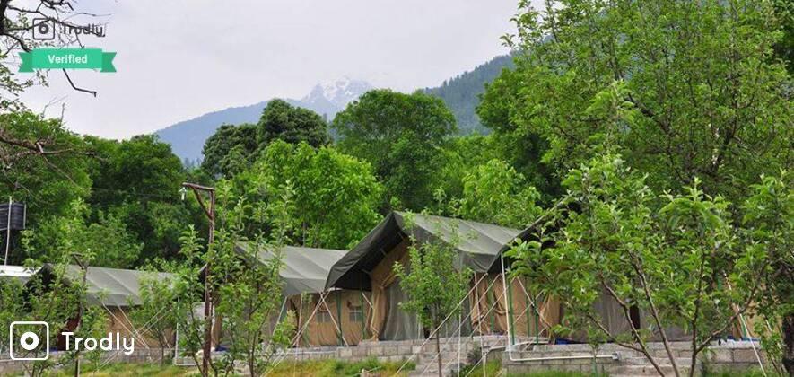 Hampta Pass Trek with 2 Nights in Luxury Swiss Tents
