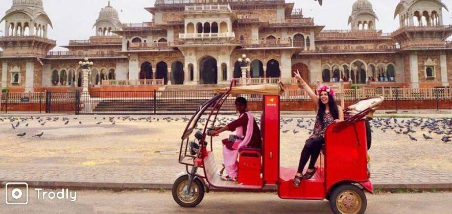 Jaipur Heritage Tour In Eco-Rickshaw