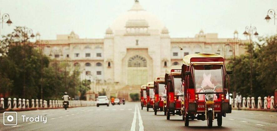 Jaipur Shopping Tour In Eco-Rickshaw