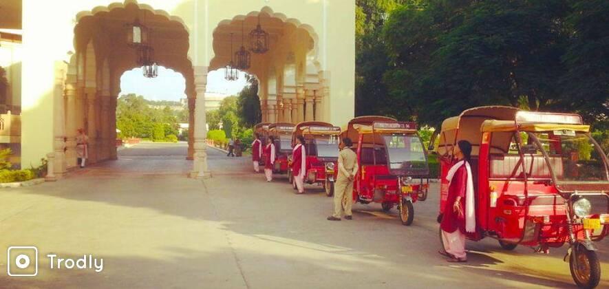 Jaipur Morning Tour In Eco-Rickshaw
