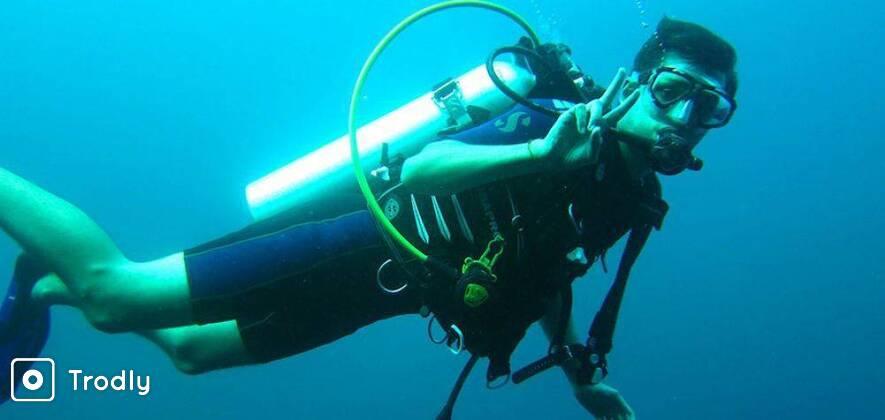 Fun Dives for Certified Scuba Divers in Goa