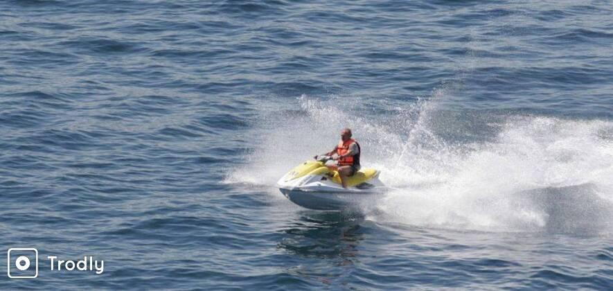 Jet Ski Self Ride Adventure at Calangute Beach