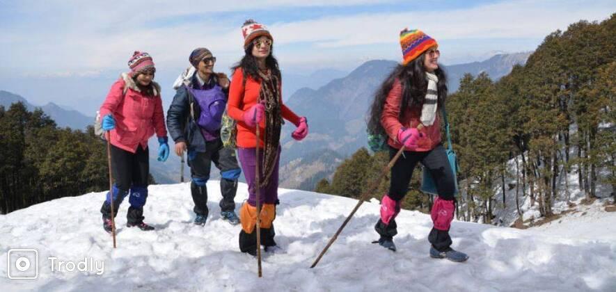 Himachal Snow Activities & Igloo Making