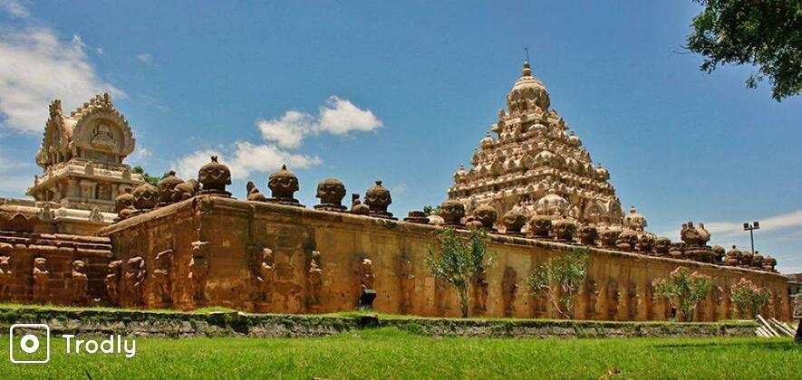 Mahabalipuram and Kanchipuram Day Tour from Chennai