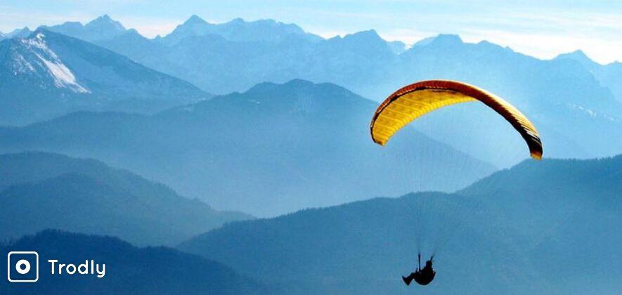 Riverside Camping, Rafting and Paragliding in Kullu