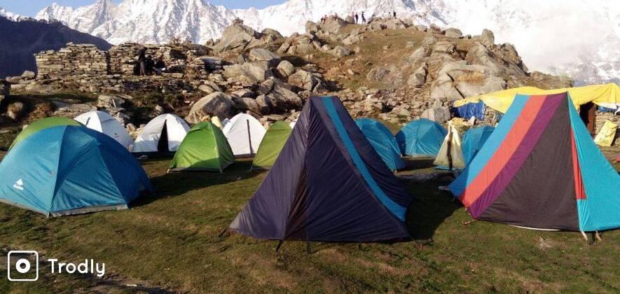 Laka Glacier Trek with Triund