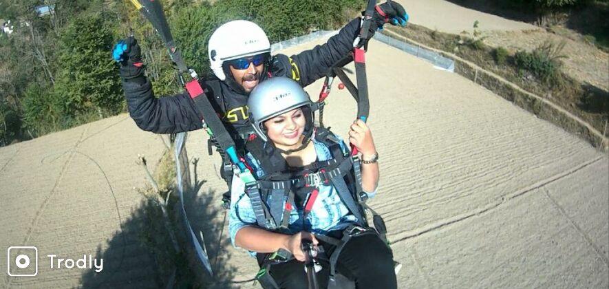 Paragliding in Shimla