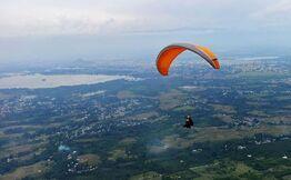 Paragliding at Srinagar