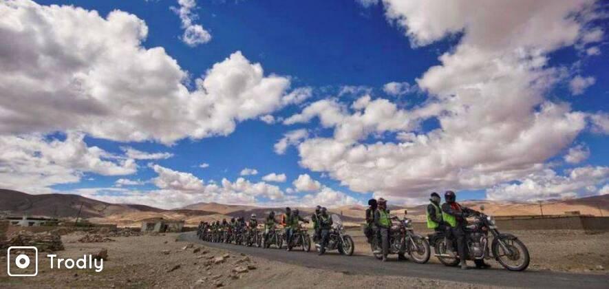 Delhi-Manali-Ladakh-Srinagar Bike Ride 2021 via Siachen Base Camp