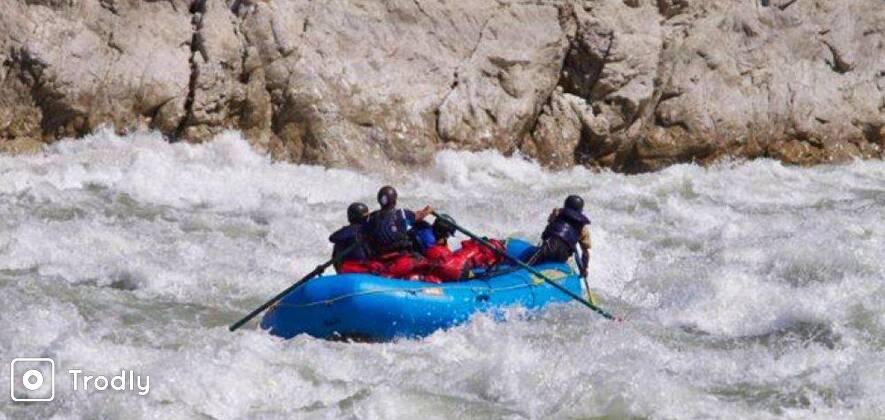 The Kali-Sarda River Rafting Expedition
