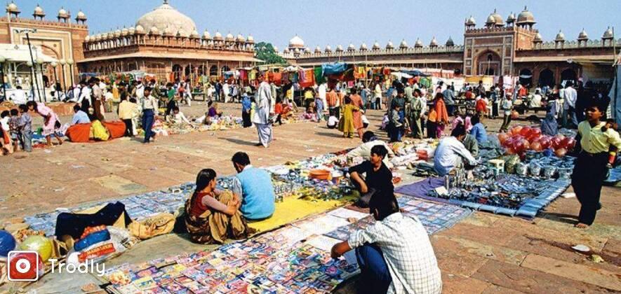 Mughal Art Walk In Agra
