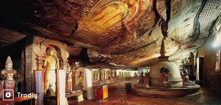 Sigiriya and Dambulla Day Trip from Kandy with Lunch