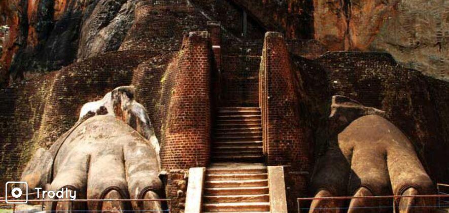 Sigiriya Rock Fortress and Village Tour from Dambulla