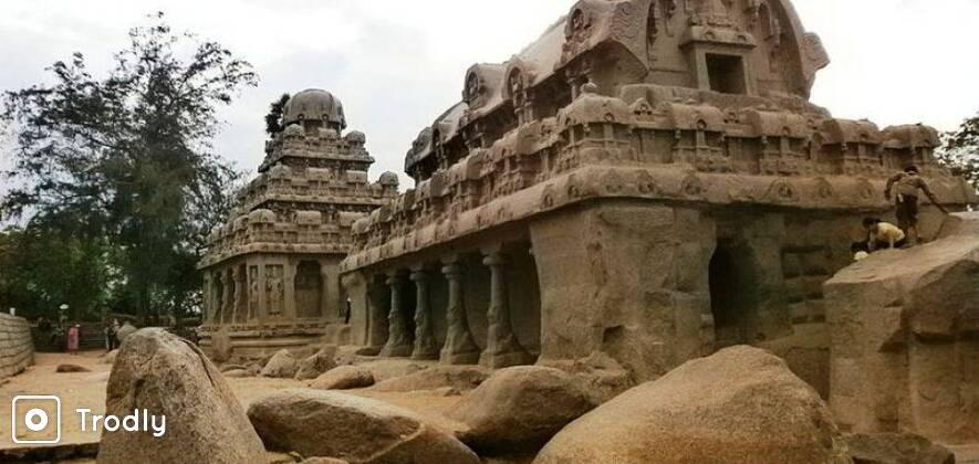 Guided Tour Of Mahabalipuram And Dakshin Chitra