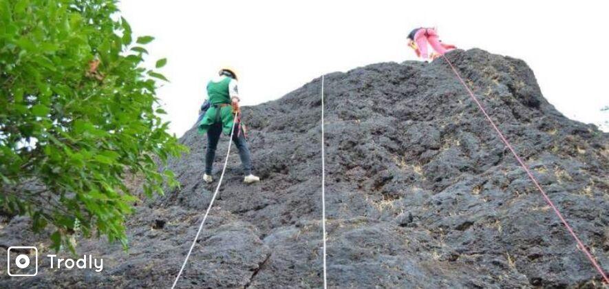 Rock Climbing & Rappelling In Panchgani