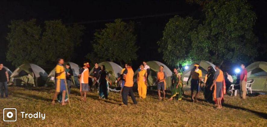 Camping At Wada