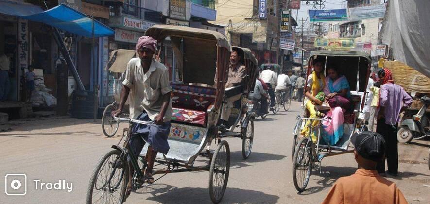 Varanasi on a Pedal Rickshaw