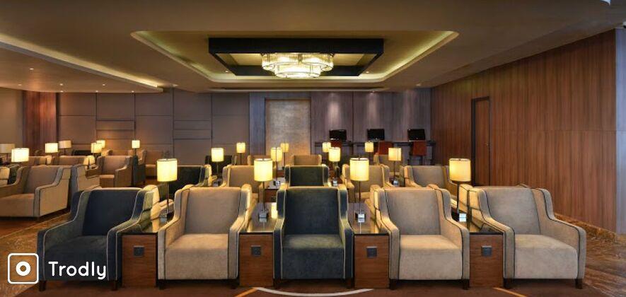 Delhi Airport Lounge Service: Plaza Premium Lounge