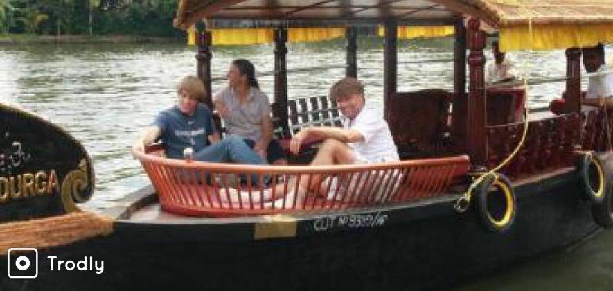 Sunset Cruise in a Traditional Shikara Boat