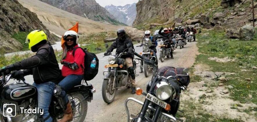 Srinagar-Ladakh-Manali Bike Ride via Siachen Base Camp & Tso Moriri