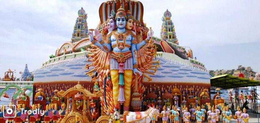 Surendrapuri Mythological Art and Sculpture Tour from Hyderabad