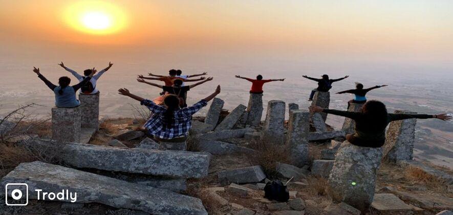 Skandagiri Group Trek from Bangalore