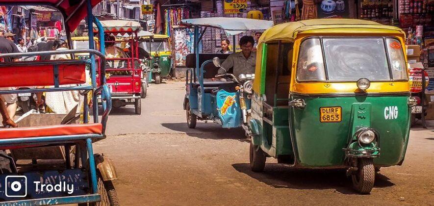 Tuk Tuk Tour of Delhi
