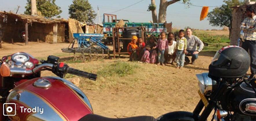 Motor Cycle Day Tour To Sambhar Lake