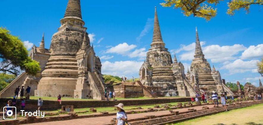 Ayutthaya Sightseeing Tour with River Cruise from Bangkok