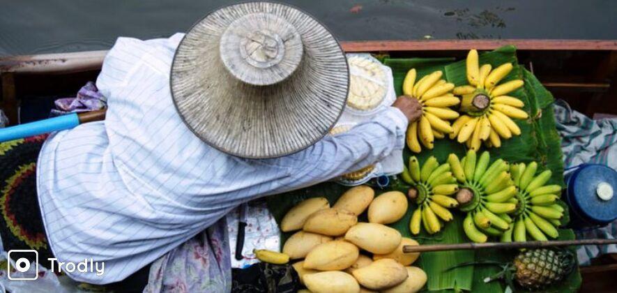 Amphawa Floating Market and Maeklong Railway Market Tour