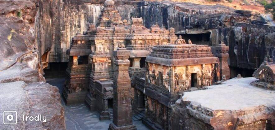 Ajanta & Ellora Caves 2 Days Sightseeing Tour from Aurangabad