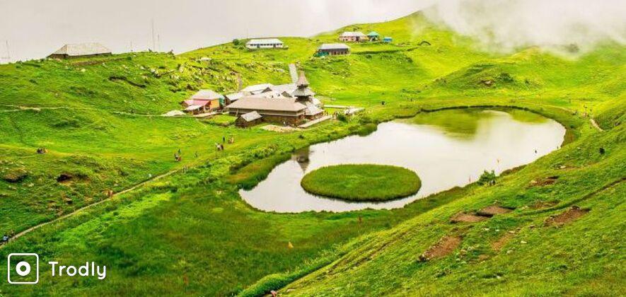 Prashar Lake Trek from Panarsa