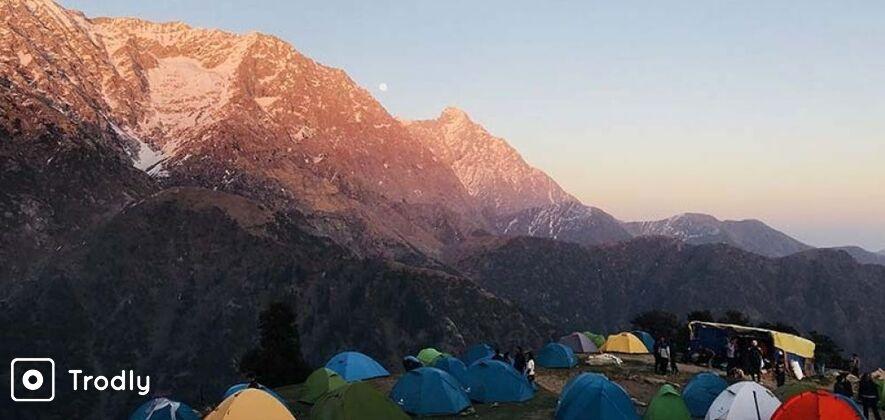 Mcleodganj Camping Experience