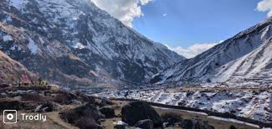 Hampta Valley Snow Trek