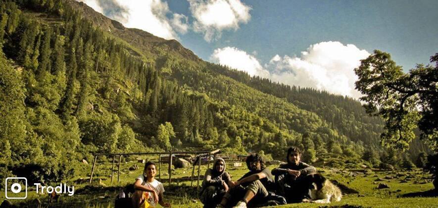 Nadda Thach Trek in Great Himalayan National Park