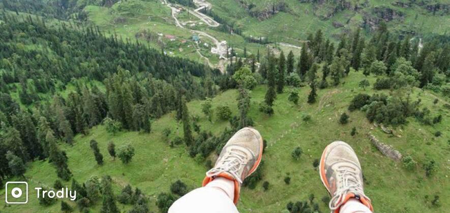 Where Eagles Dare: Trek to Lake Brighu and Paraglide to Manali