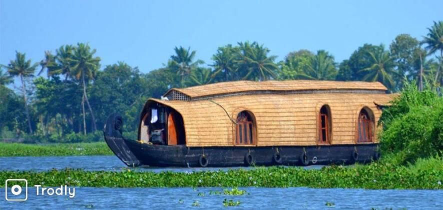 Munnar - Alleppey Houseboat - 3N/4D