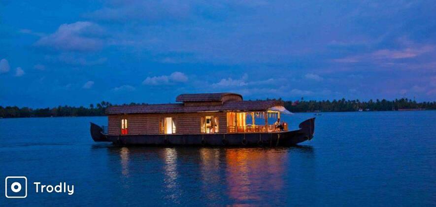 Munnar Alleppey Houseboat - 3N/4D Trip