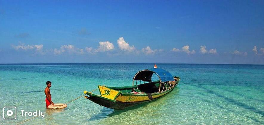 Neil Island Cruise and Neil Beaches Trip from Port Blair