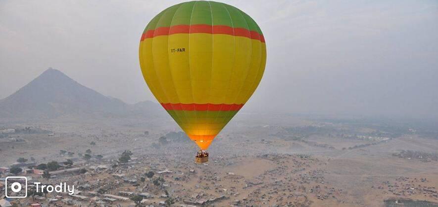 Hot Air Balloon Safari in Pushkar