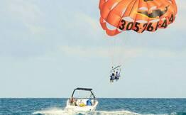 Parasailing at Private Beach Near Miramar