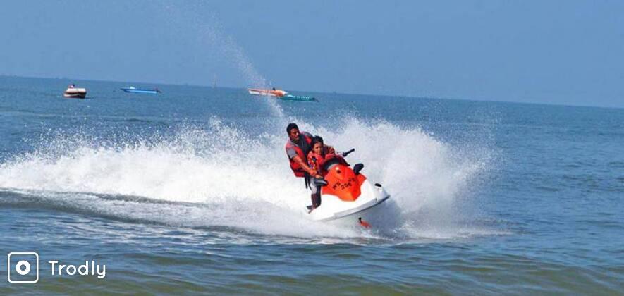 Jet Ski Ride at Candolim Beach