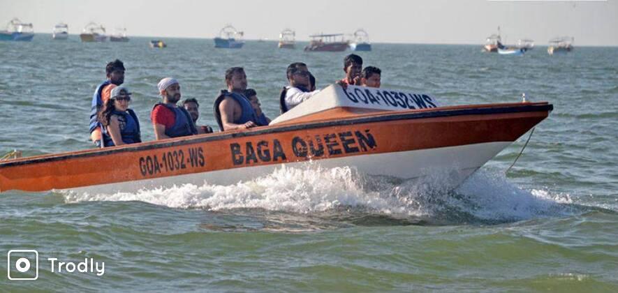 Speed Boat Ride In Goa